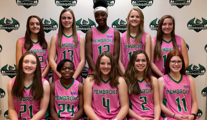 Pembroke Girls' Basketball Team